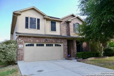 San Antonio Single Family Home New: 2740 Sterling Way