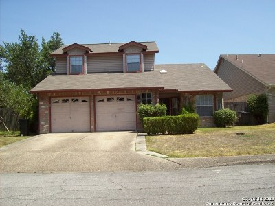San Antonio Single Family Home New: 14018 Fairway Court