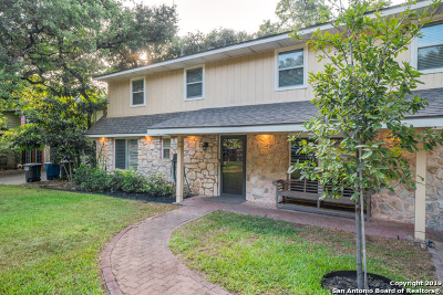 San Antonio Single Family Home New: 11431 Raindrop Dr