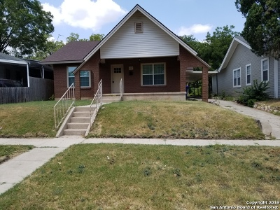 San Antonio Single Family Home New: 1227 Kayton Ave