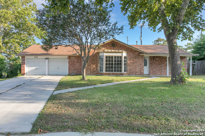 San Antonio Single Family Home New: 15215 Branding Iron Dr