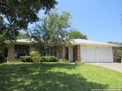 San Antonio Single Family Home New: 11451 Woollcott St