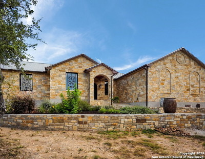 Bulverde, Spring Branch, Canyon Lake Single Family Home New: 1242 Mystic Breeze