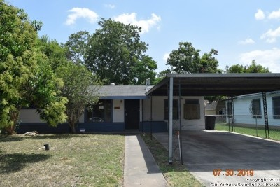 San Antonio Single Family Home New: 3002 Hatton St
