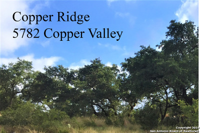 New Braunfels Residential Lots & Land New: 5782 Copper Valley
