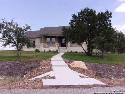 Bulverde, Spring Branch, Canyon Lake Single Family Home New: 3113 Comal Springs