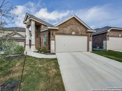 Helotes Single Family Home Active Option: 9411 Bricewood Post
