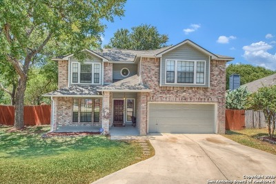 Schertz Single Family Home New: 2609 Cotton King