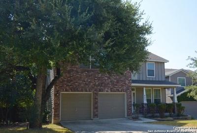 San Antonio Single Family Home New: 806 Horn Run