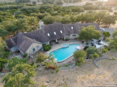 Bulverde, Spring Branch, Canyon Lake Single Family Home New: 35120 Smithson Valley Rd