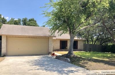 San Antonio Single Family Home New: 16302 Ross Oak St