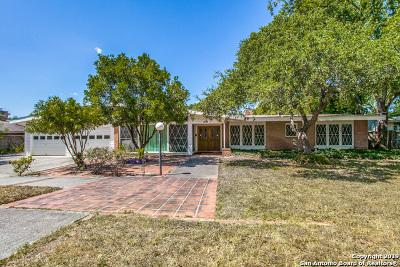 San Antonio Single Family Home New: 331 Killarney Dr