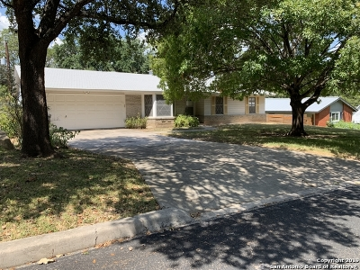 San Antonio Single Family Home New: 3123 Tawny Oak Dr