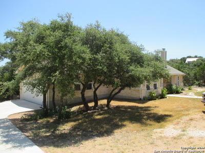 Fischer Single Family Home New: 1125 Agarita Dr