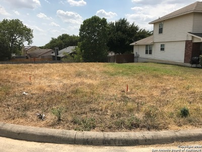 Converse Residential Lots & Land New: 8314 Comanche Pass