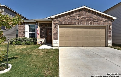 Cibolo, Schertz, New Braunfels Single Family Home New: 126 Texas Thistle