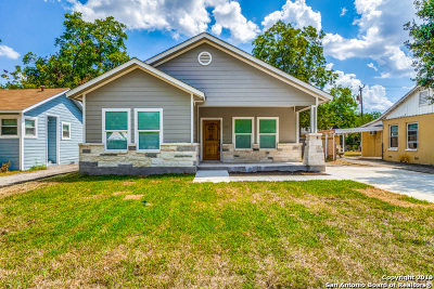 San Antonio Single Family Home New: 2014 Hicks Ave