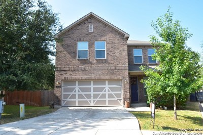 Boerne Single Family Home New: 105 Lilly Creek