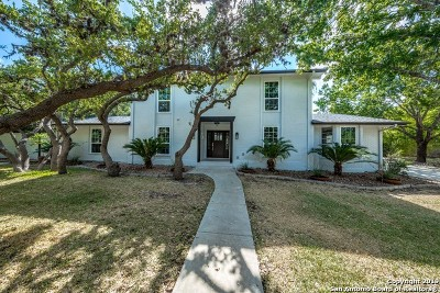 Bexar County Single Family Home New: 308 Sterling Browning Rd
