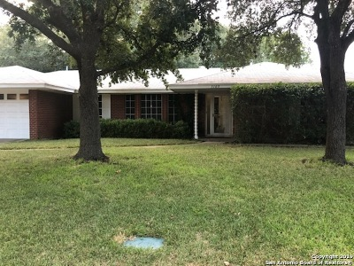 San Antonio Single Family Home New: 3103 Renker Dr
