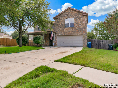 Cibolo, Schertz, New Braunfels Single Family Home New: 113 Cloud Crossing