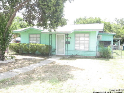 San Antonio Single Family Home New: 3626 W Poplar St
