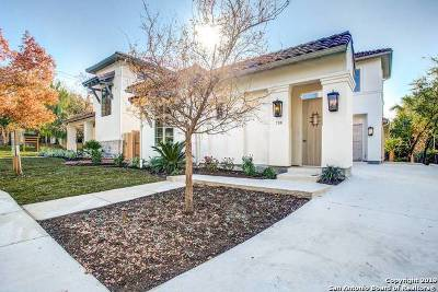 Alamo Heights Single Family Home New: 138 Grandview Pl