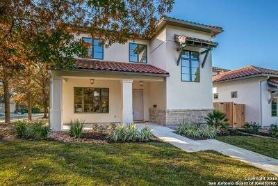 Alamo Heights Single Family Home New: 140 Grandview Pl