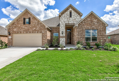 Boerne Single Family Home New: 215 Parkview Terrace