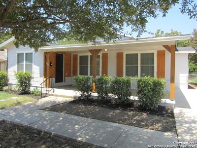 San Antonio Single Family Home New: 315 Avant Ave