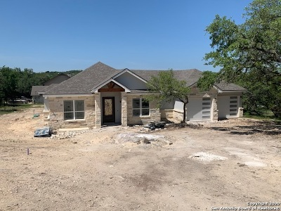 Timberwood Park Single Family Home New: 249 Ceremonial Ridge
