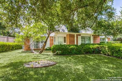 San Antonio Single Family Home New: 7623 Woodridge Dr
