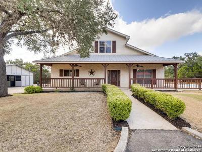 Bulverde Single Family Home New: 838 Georg Oaks