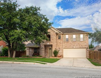 San Antonio Single Family Home New: 21810 Broken Elm