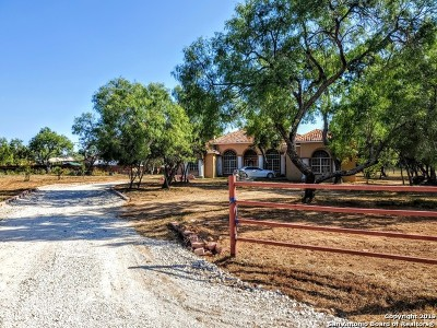 Atascosa County Single Family Home For Sale: 40 S Hill Dr