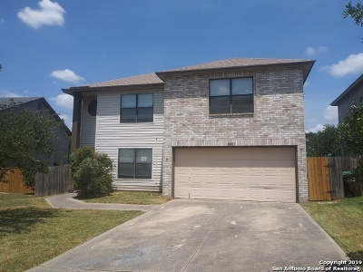 Converse Single Family Home New: 8007 Chestnut Bluff Dr