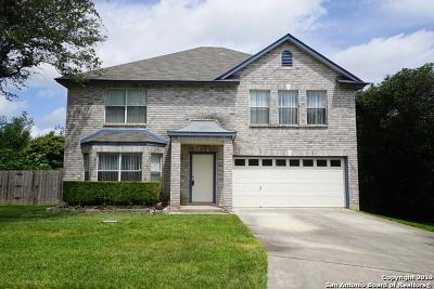 San Antonio Single Family Home New: 14235 Cougar Creek