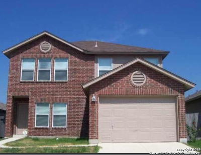 Converse Single Family Home New: 6335 Kensinger Pass