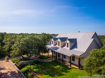 New Braunfels TX Single Family Home For Sale: $750,000