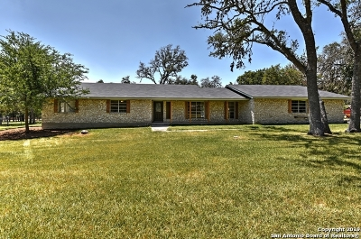 Boerne Single Family Home New: 9530 Deer Ridge Dr