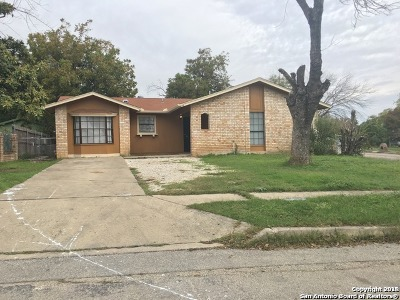 San Antonio Single Family Home New: 5403 Brookhill St