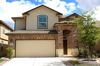 San Antonio Single Family Home New: 8708 Creager Canyon
