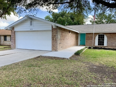 Schertz Single Family Home New: 4914 Tiffany Ln