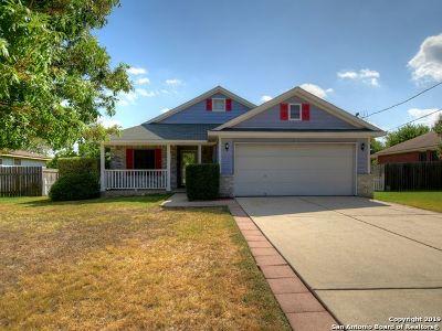 Kyle Single Family Home New: 136 James Lin Circle
