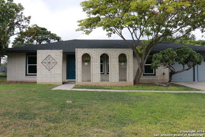 San Antonio Single Family Home New: 10115 Northampton Dr