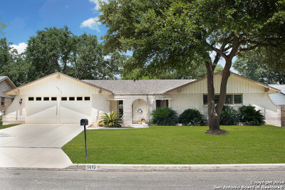 San Antonio Single Family Home New: 5815 Bogart Dr