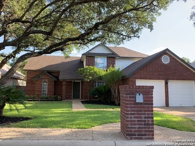 San Antonio Single Family Home New: 1122 Canyon Brook