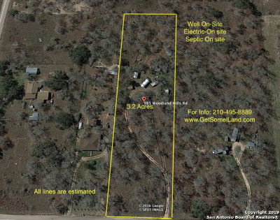 Poteet Single Family Home New: 981 Woodland Hills Rd