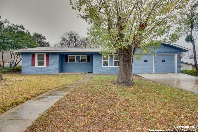 San Antonio Single Family Home New: 326 Stockton Dr