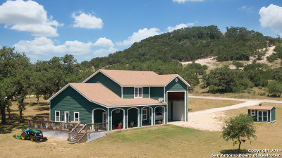 Bandera County Single Family Home For Sale: 480 Hills Of Bandera Rd